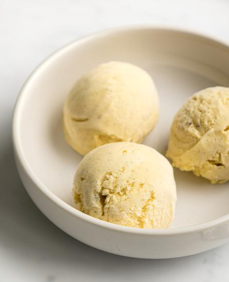 glace vanille madagascar norohy empreinte sucree macro